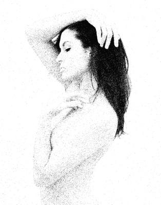 Pen and Ink Portrait
